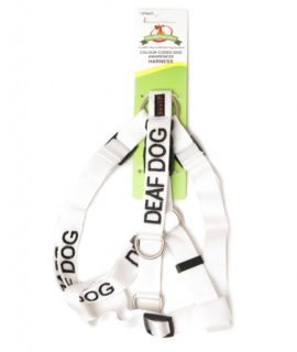 Deaf Strap Harness (white)